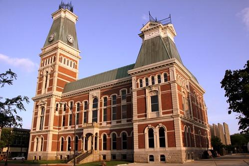 Bartholomew County Courthouse (North Side) - Columbus, IN