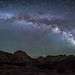 Milky Way Arching to Pectol's Pyramid by HubbleColor {Zolt}