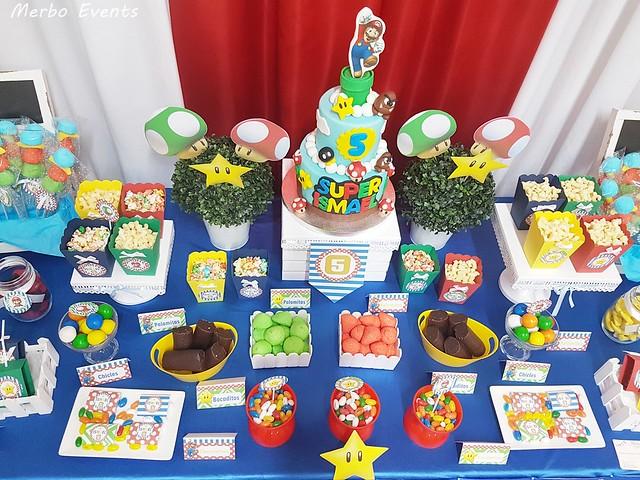 Cumpleaños Mario Bros Merbo Events