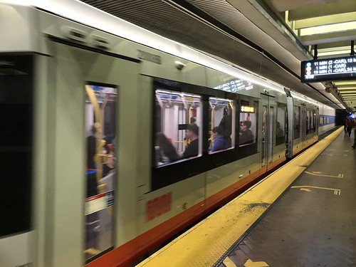 New Muni Metro train in service