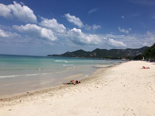 サムイ島 チャウエンビーチ 6月ののんびり