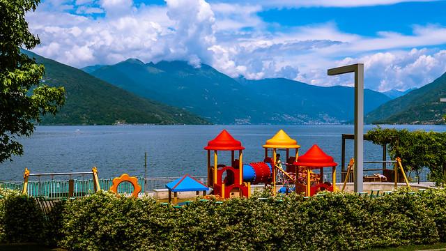 Lago Maggiore, Luino, Parco a Lago