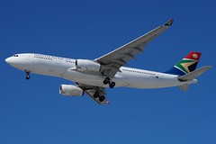 ZS-SXY South African Airways Airbus A330-243