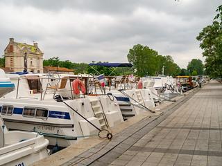 Quai du Port Neuf in Béziers