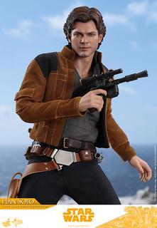 Hot Toys - MMS491 -《星際大戰外傳:韓索羅》韓·索羅 Han Solo 1/6 比例人偶作品