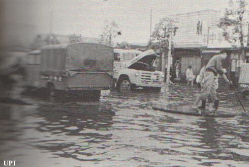 Losses after Hurricane Ida 1958