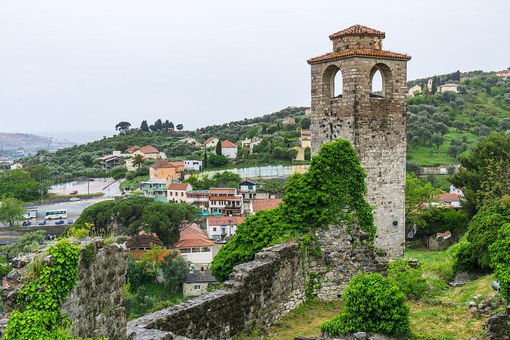 Что посмотреть в Черногории. Фото Старый Бар. Достопримечательности Черногории