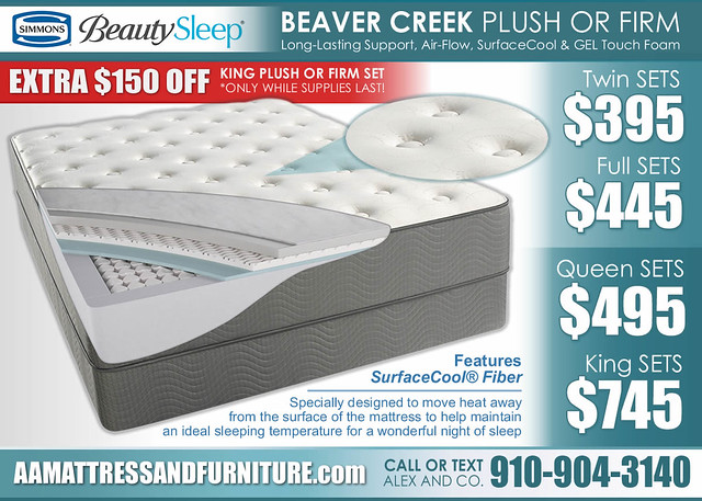 Beaver Creek Plush or Firm Collection_LimitedSpecial