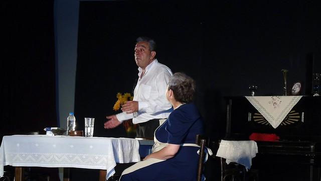 Θεατρική παράσταση «Αυγά Μαύρα» από το σωματείο «Εξαύδα» στην Λευκάδα
