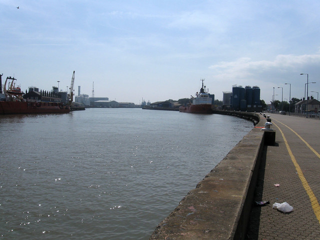 The River Yare, Great Yarmouth