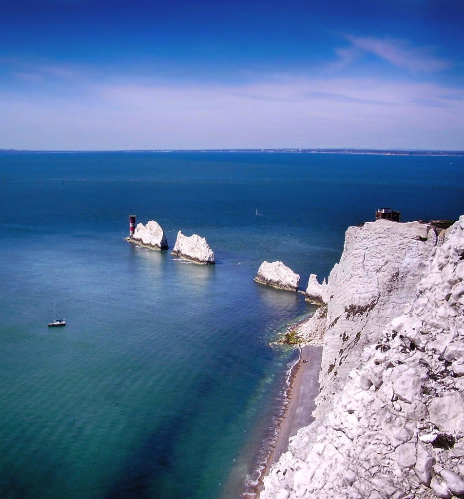 The Needles, Isle of Wight. Credit Mypix