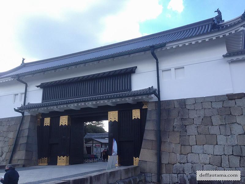 Babymoon ke Jepang - Higashi-ote-mon Gate