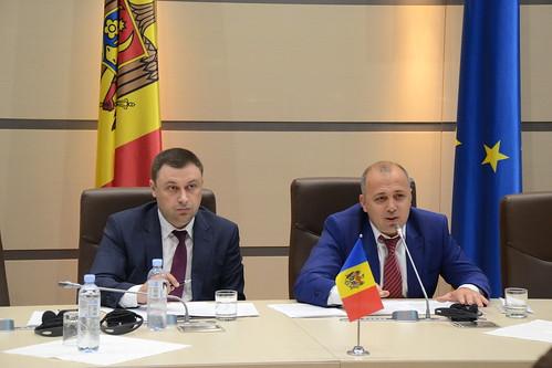 11.06.2018 Întrevederea delegației Comisiei Comune pentru Integrare Europeană dintre Parlamentul Republicii Moldova și Parlamentul României cu Comisiile parlamentare.