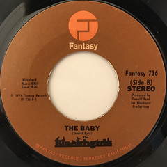 THE BLACKBYRDS:WALKIN IN RHYTHM(LABEL SIDE-B)