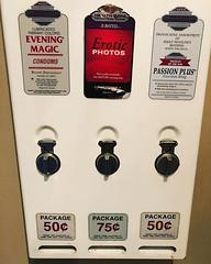 The bathroom vending machine. #funnythingsinbathrooms