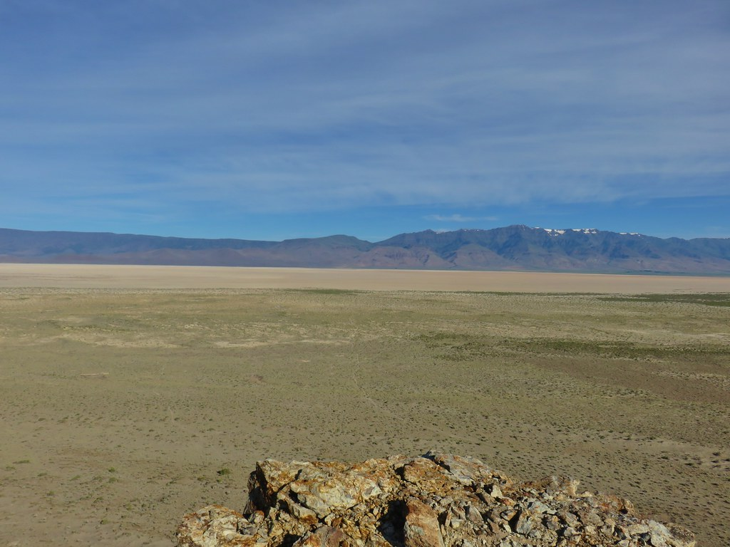 Alvord Desert and Steens Mountain