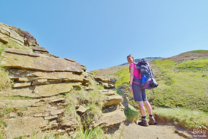 Peak District hike with Banshee 200 tent