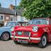 1967 Triumph Vitesse - UTU 467E + 1966 Triumph Herald DHC - MPE 750D - Classic Stony 2018