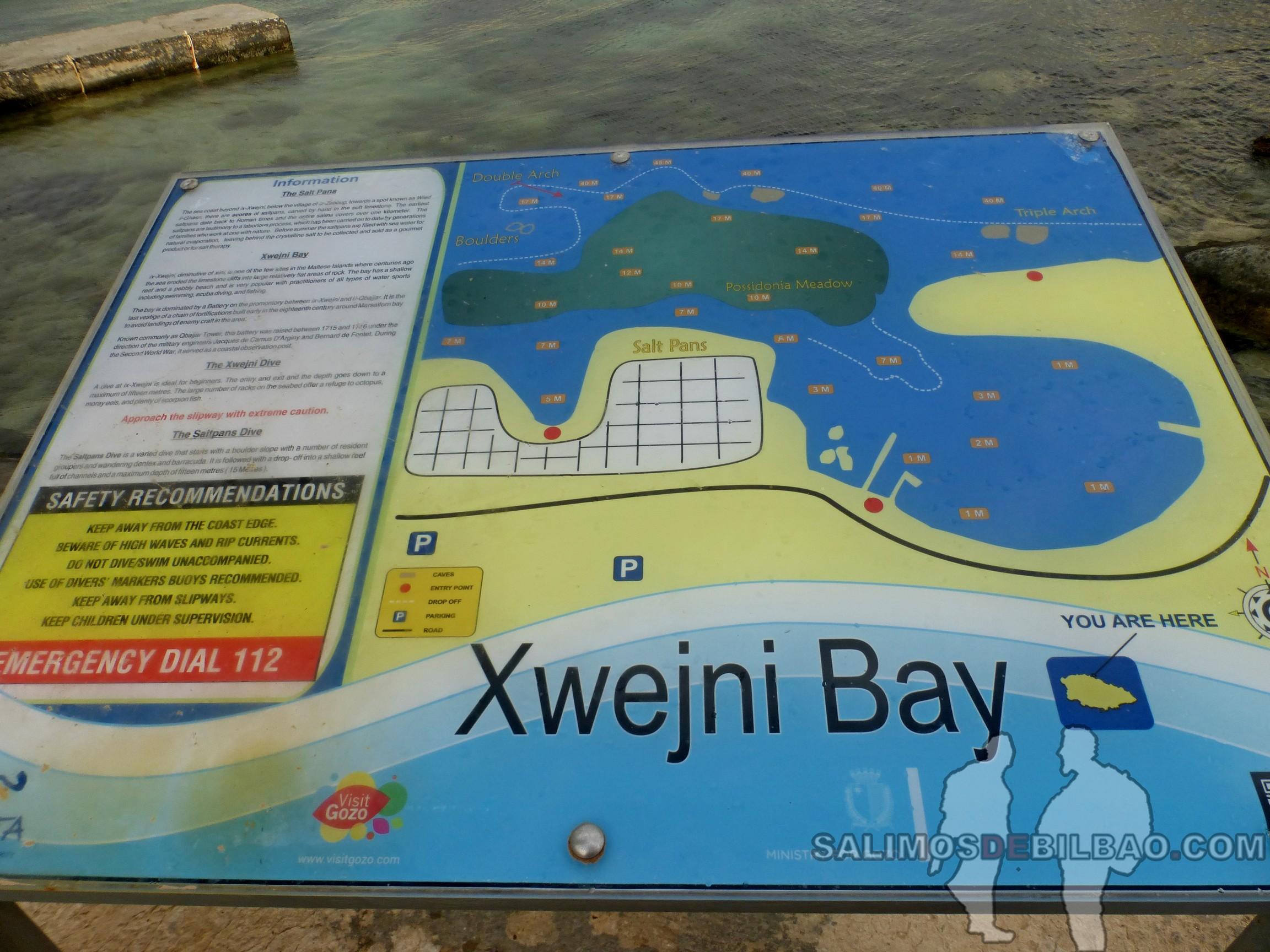 0448. Xwejni Bay, Gozo