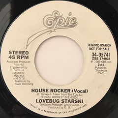 LOVEBUG STARSKI:HOUSE ROCKER(LABEL SIDE-B)