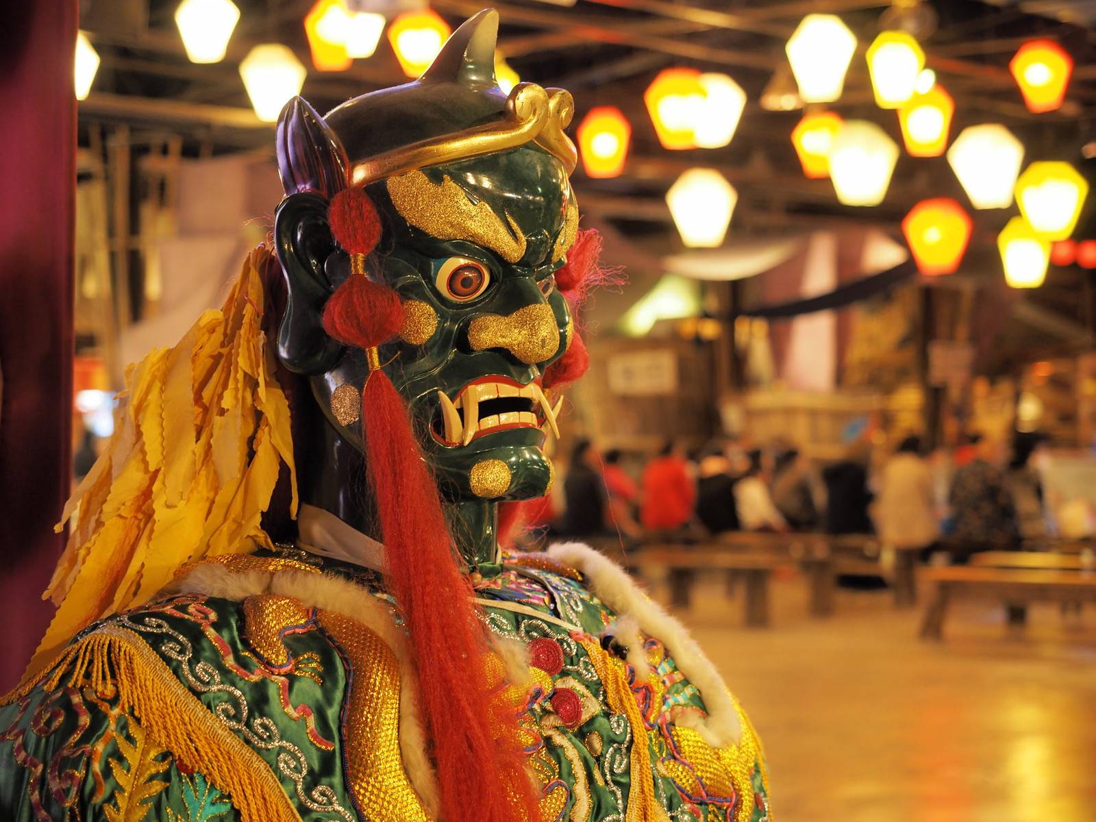 An opera costume in Taiwan Times Village (寶島時代村)