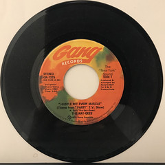 THE KAY-GEES:HUSTLE WIT EVERY MUSCLE(RECORD SIDE-A)