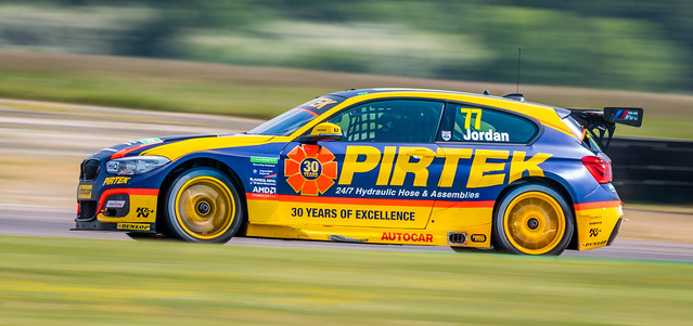 Andrew Jordan BMW 125i M Sport Pirtek Racing