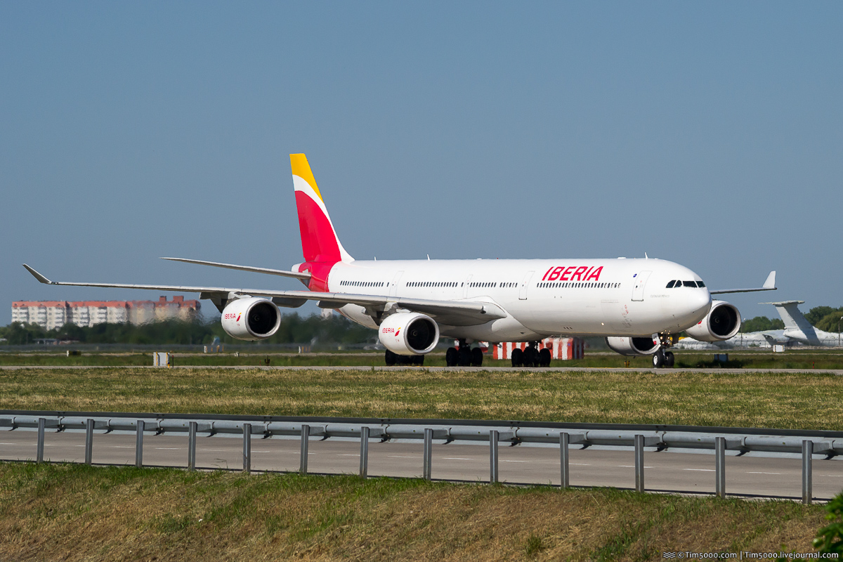 Airbus A340-600 EC-LFS Iberia