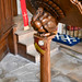 Boynton, St Andrew's church, turkey lectern