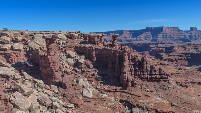 Canyonlands Shafer Trail 02-24-2018