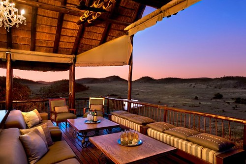 Luxury safari experience near Joburg