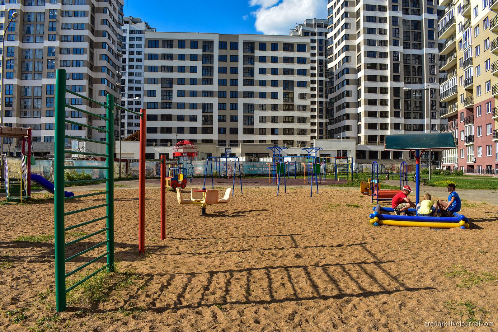 Город для детей и родителей застройка