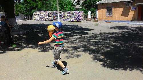 Міжнародний день захисту дітей в таборі «Веселка» (ЗОШ № 60)