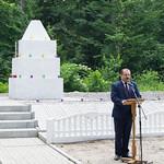 Відкриття оновленого меморіалу жертвам Голокосту