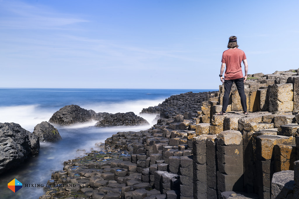 Selfie at The Giant's Causeway