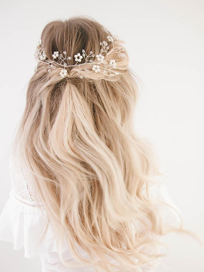 Luxury Hair Bride: Romantic Wedding Hairstyles 2018 6