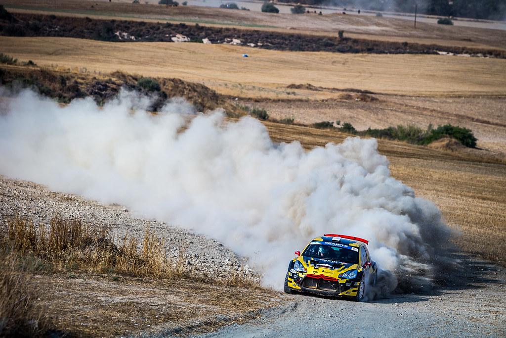 07 TSOULOFTAS Alexandros (CYP), CHRYSOSTOMOU Antonis (CYP), ALEXANDROS TSOULOFTAS, CITROEN DS3 R5, action during the 2018 European Rally Championship ERC Cyprus Rally,  from june 15 to 17 at Larnaca, Cyprus - Photo Thomas Fenetre / DPPI