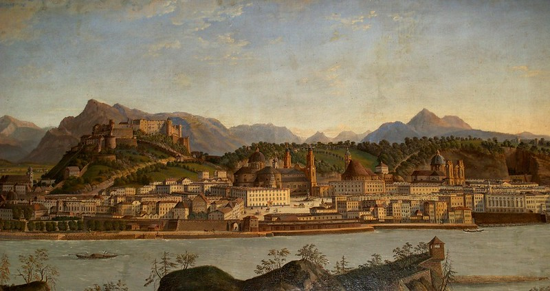 Anonim - Vista de Salzburgo