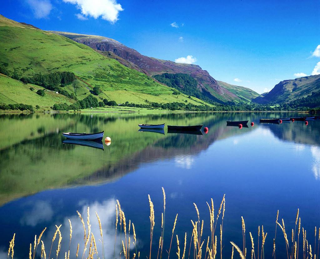Tal-y-llyn Lake, Snowdonia, Wales. Credit Kevin Richardson