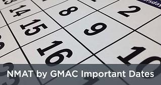 nmat important dates