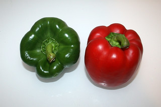01 - Zutat Paprika / Ingredient bell pepper