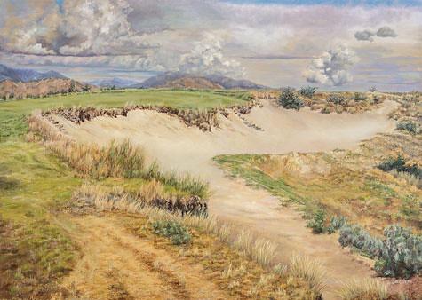 Tight Line, No. 17. Artist Jan Clizer