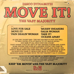 THE VAST MAJORITY:MOVE IT!(JACKET B)