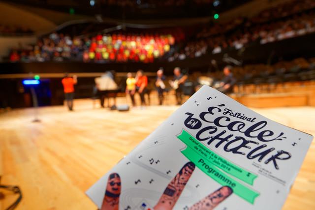 Grand concert du Festival École en choeur à la Philharmonie de Paris