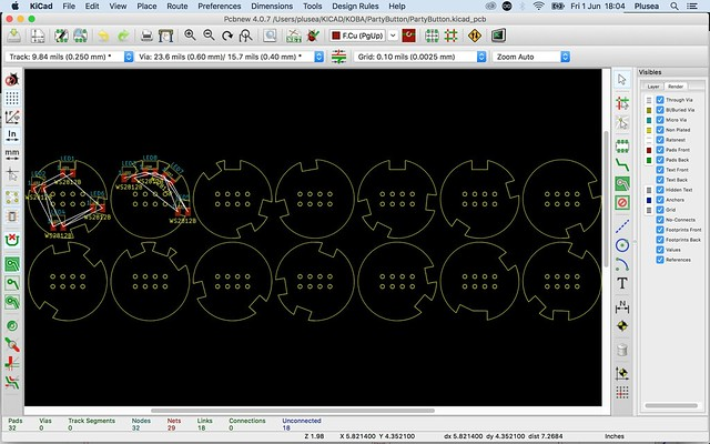 O! The joys of KiCAD