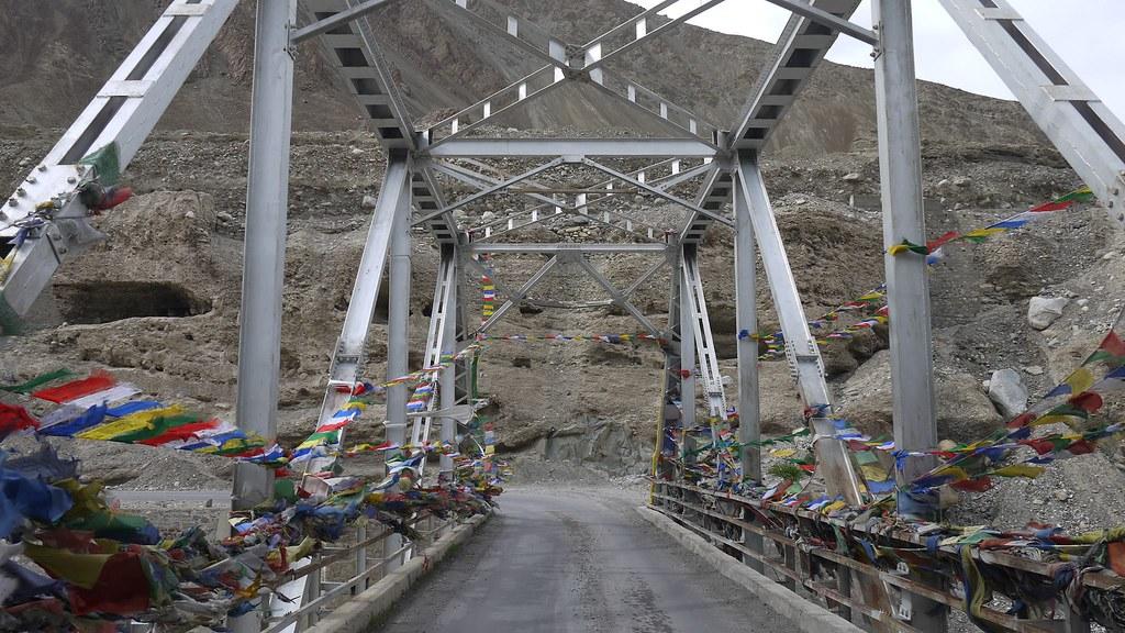 A bridge in Alchi, Ladakh, India