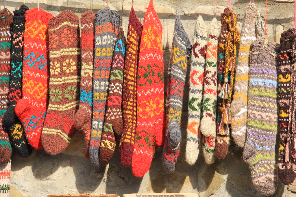 Knitted socks, Signaghi