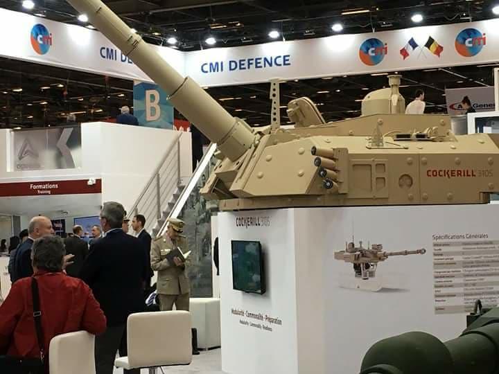 افتتاح معرض  Eurosatory 2018 الدولي للدفاع والأمن بباريس 40948654080_c5f4c4fd8f_b