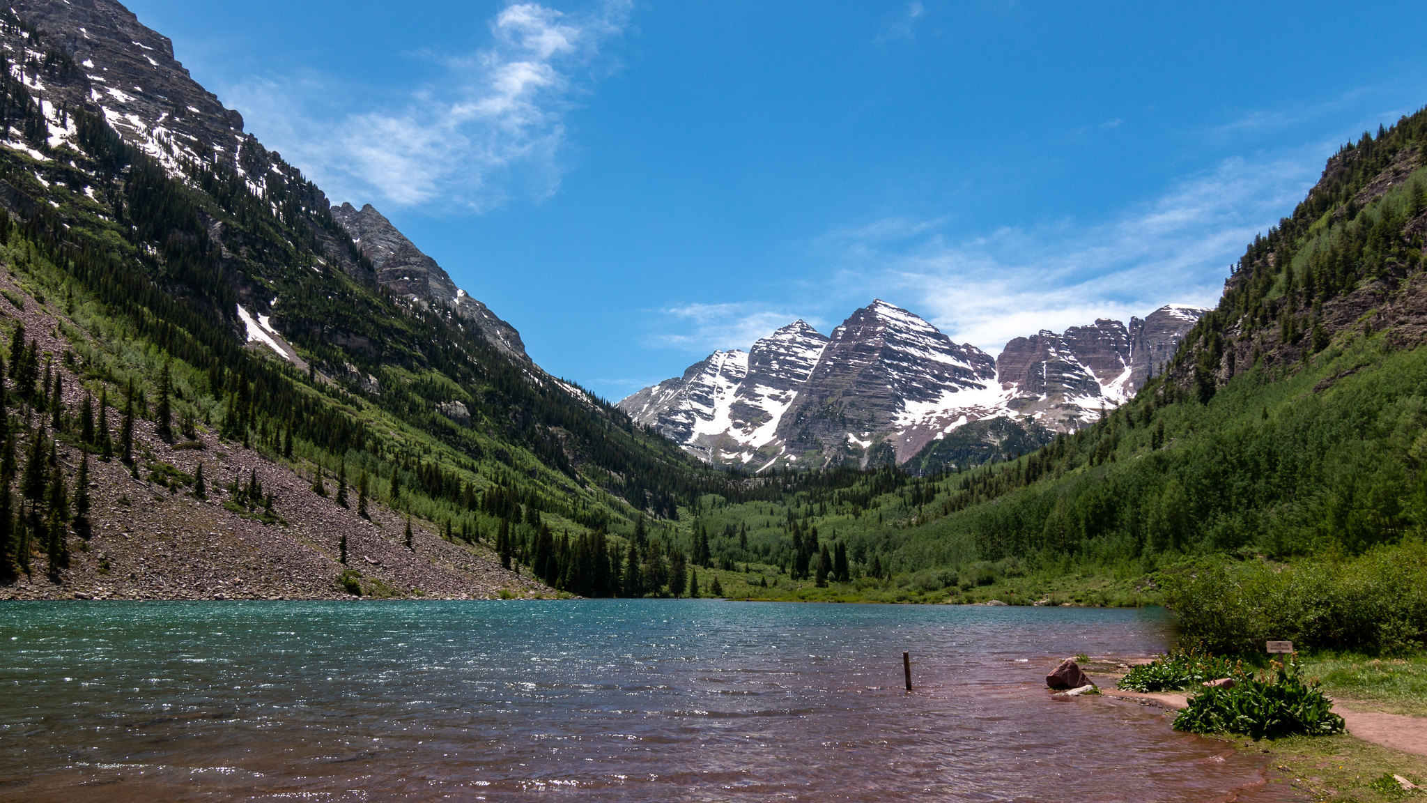 Maroon Bells - Colorado - [USA]