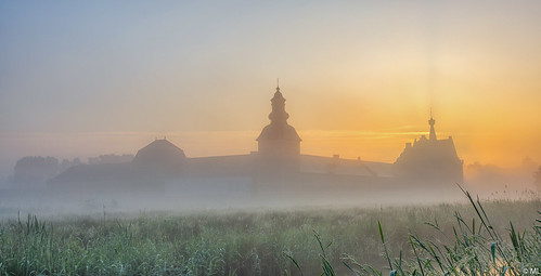 Abbey in the Fog